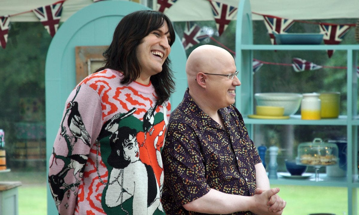 Why The Great British Bake Off REPLACED Noel Fielding - get the details |  HELLO!