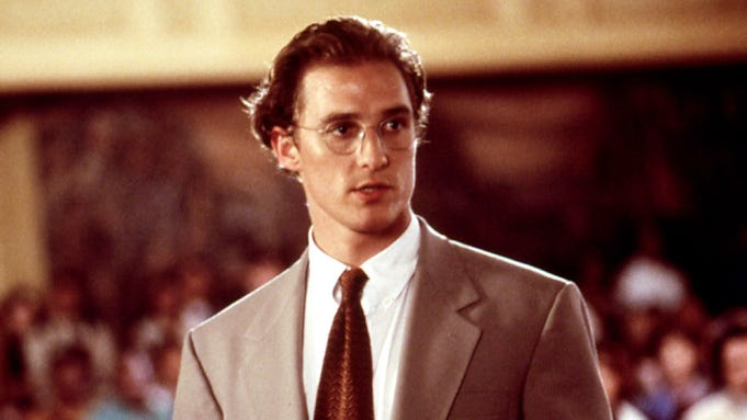 Matthew McConaughey in A Time to