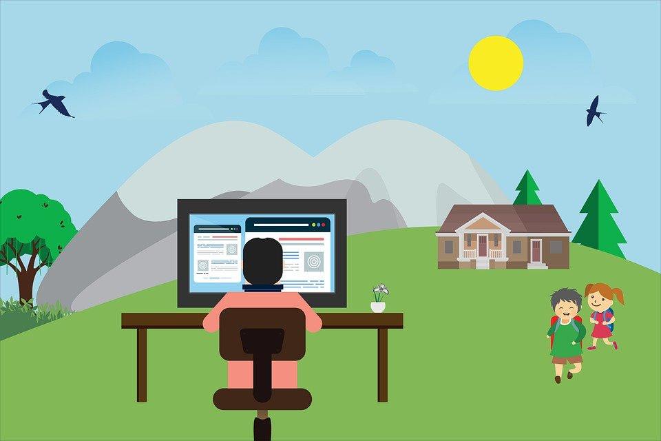 Remote Working Freelancer - Free image on Pixabay