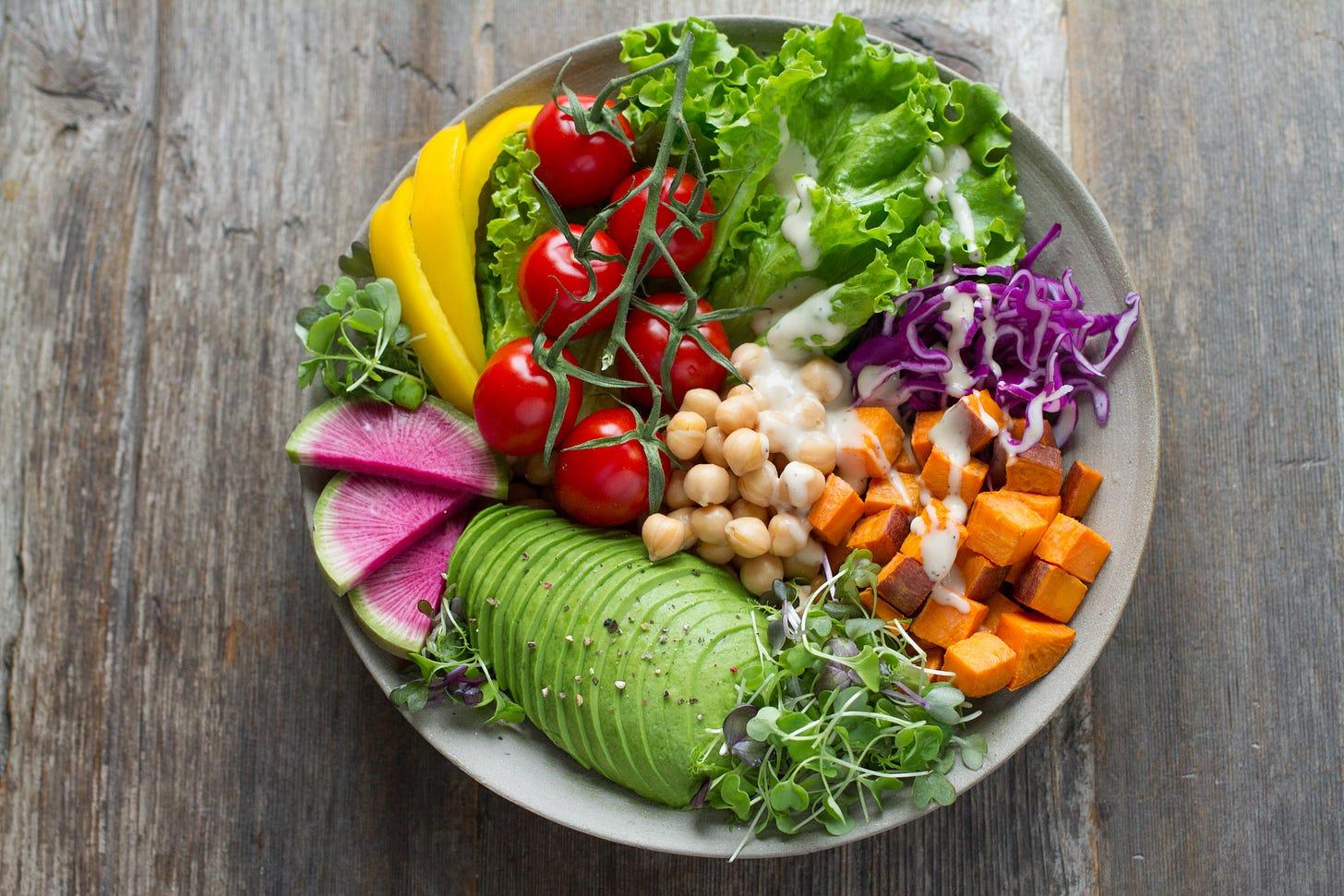 Plant-based bowl