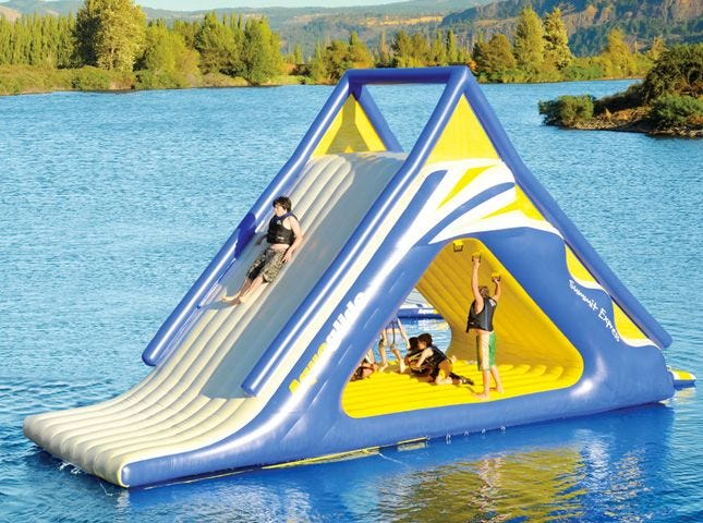 Image result for silly tower slide