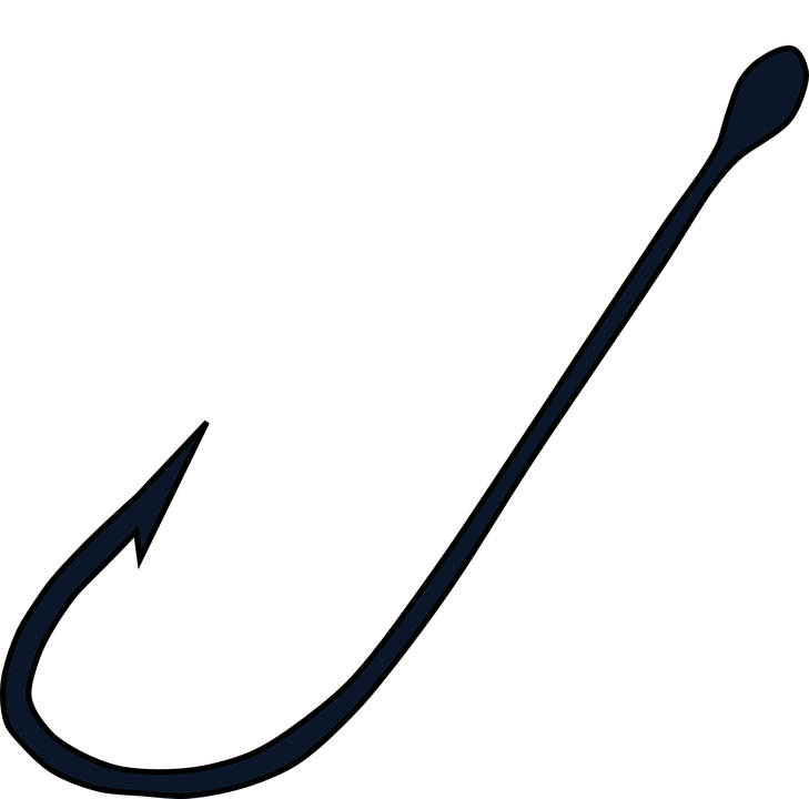 Fish Fishing Hook - Free vector graphic on Pixabay