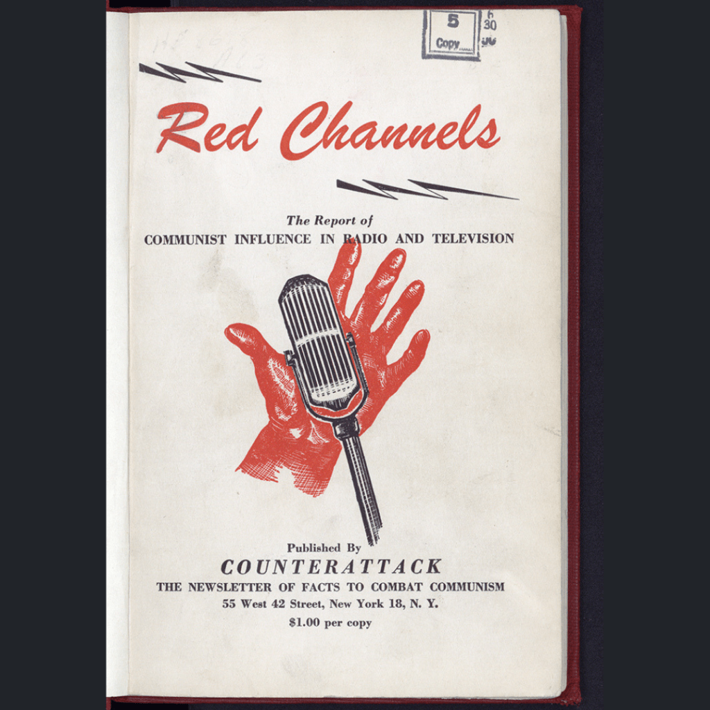 Red Channels booklet title page