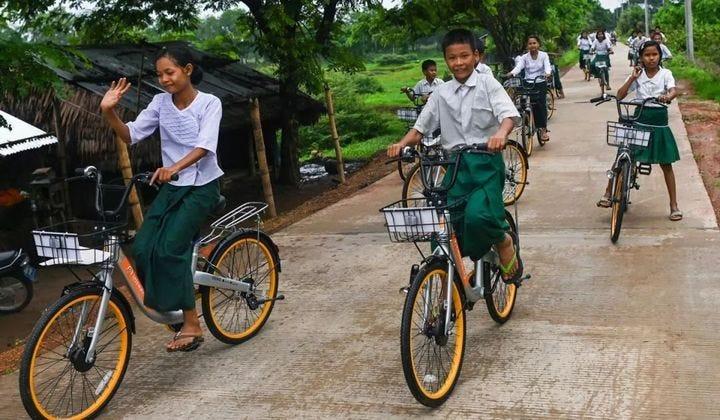 If one day ofo is dead, please bury it in Myanmar