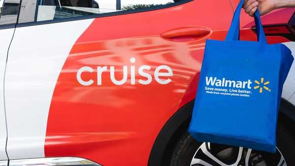 Cruise partners with Walmart.
