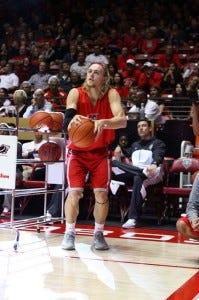 Hugh Greenwood of the New Mexico Lobos