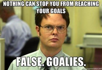 Goals Memes