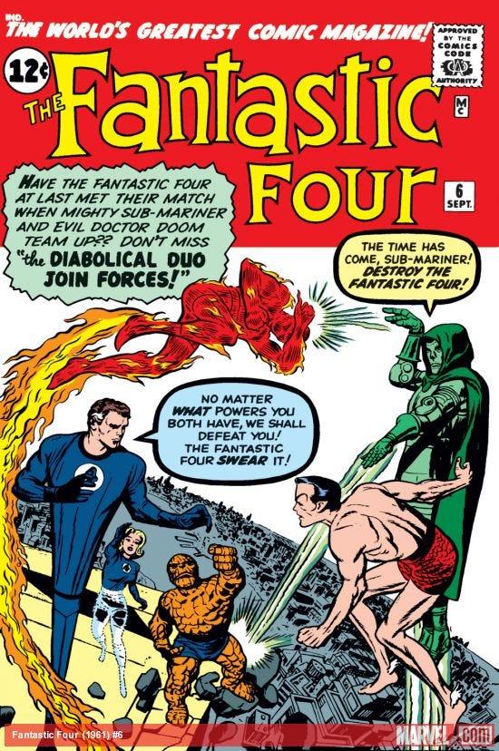 Fantastic Four (1961) #6   Comic Issues   Marvel