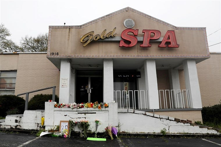 Image: Deadly shootings at three spas in Georgia