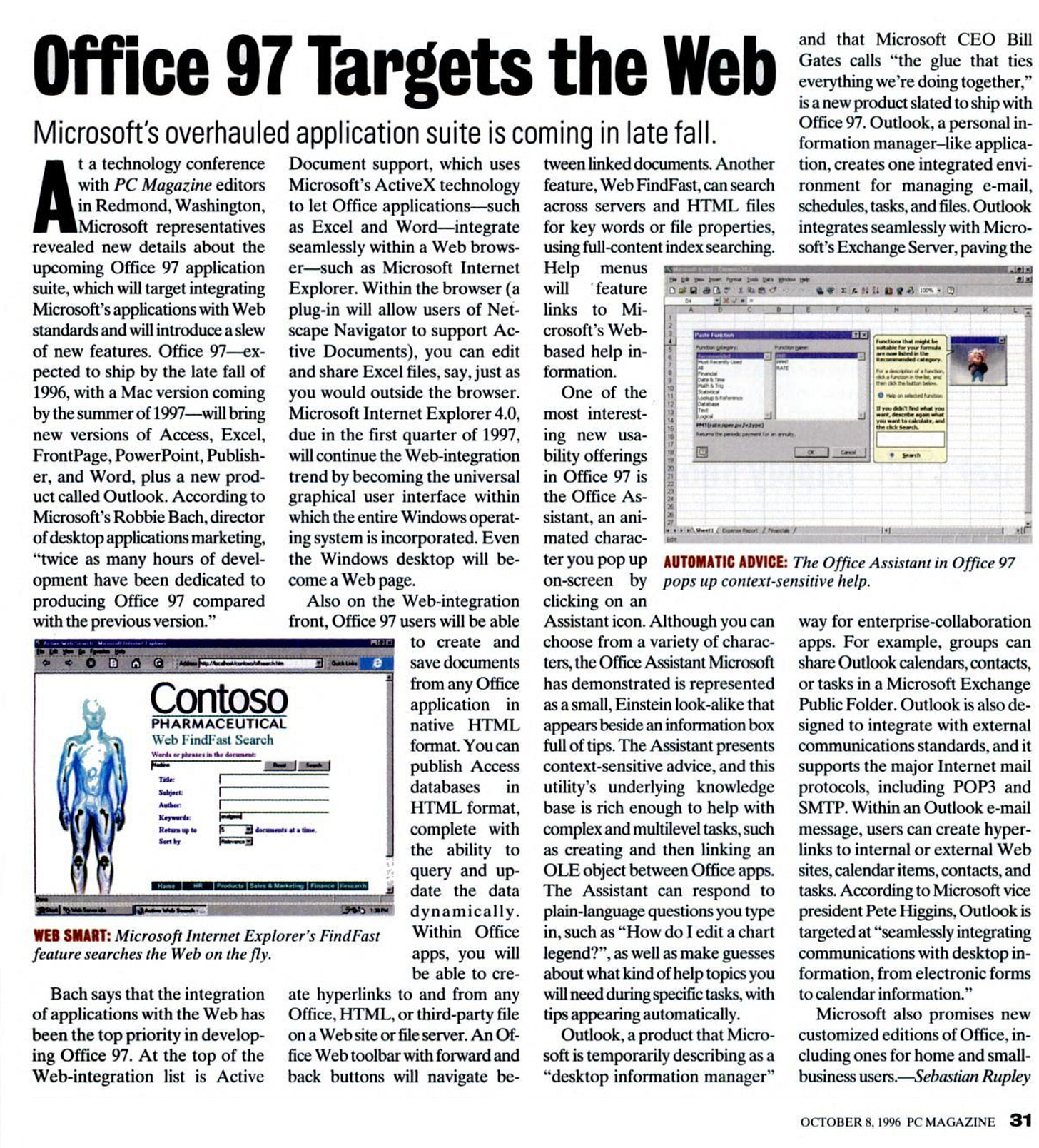 Office 97 Targets the Web