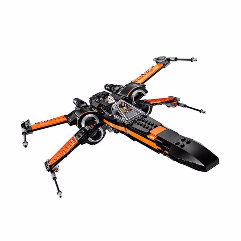 New 2019 StarWars Red Tie Fighter AT-TE Walker Building Blocks Brick Toys For Children With 75240 75242