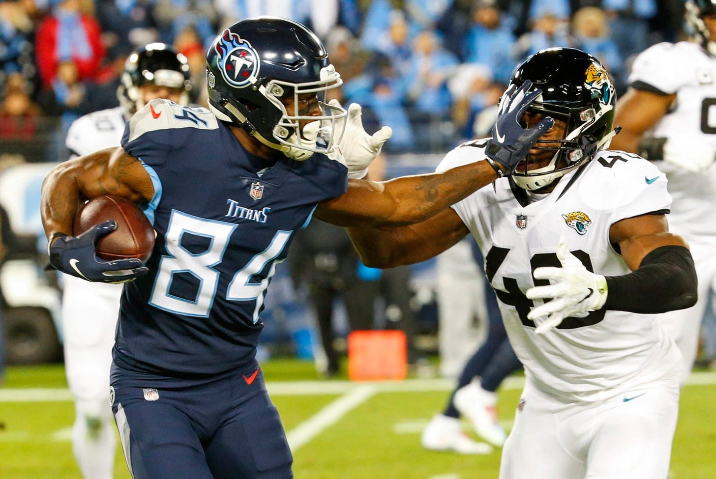 Tennessee Titans have duo of WRs that make DBs rethink getting physical