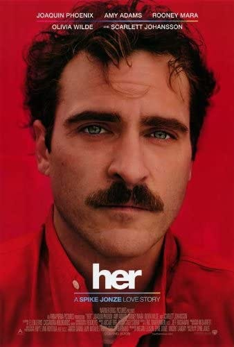 Amazon.com: Her (2013) 27 x 40 Movie Poster Style A: Posters & Prints