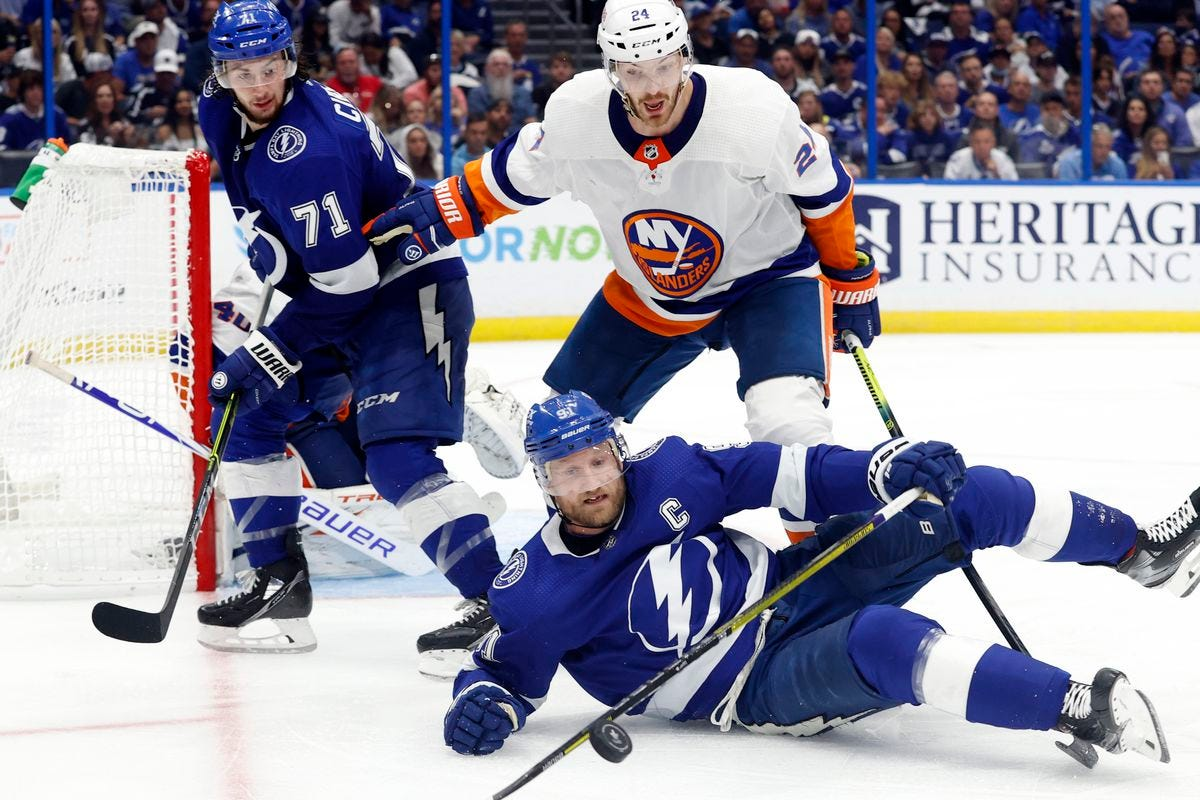 Game 1 Recap: Lightning come close at the end, but lose 2-1 - Raw Charge
