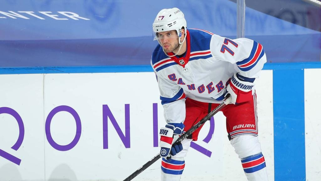 DeAngelo has played last game for Rangers after incident with Georgiev