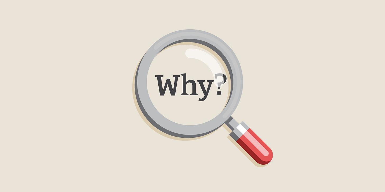 kyle evans - 5 whys mindset - product thinking