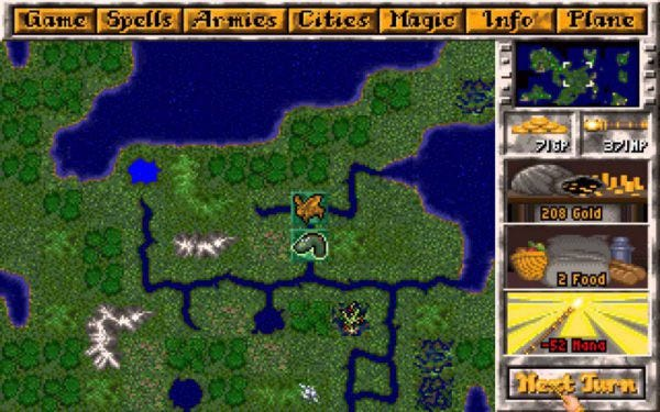 《Master of Magic》,最棒的奇幻探索經營遊戲,沒有之一