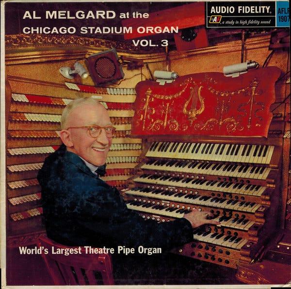 Al Melgard – At The Chicago Stadium Organ Vol. 3 (1959, Vinyl) - Discogs