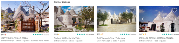 Airbnb: Listing Embeddings for Similar Listing Recommendations and Real-time Personalization in Search