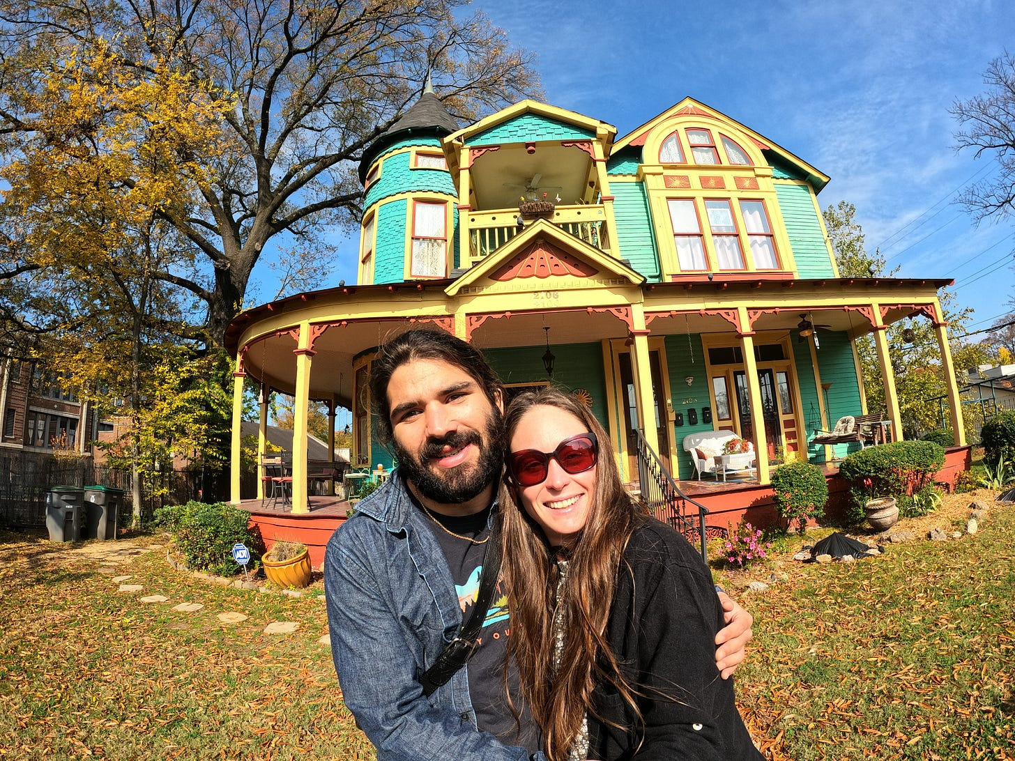 Captian Harris House — Where Ant and Kelly stayed during their time in Memphis, TN