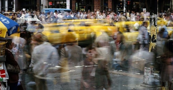 The pandemic shows what cars have done to cities.