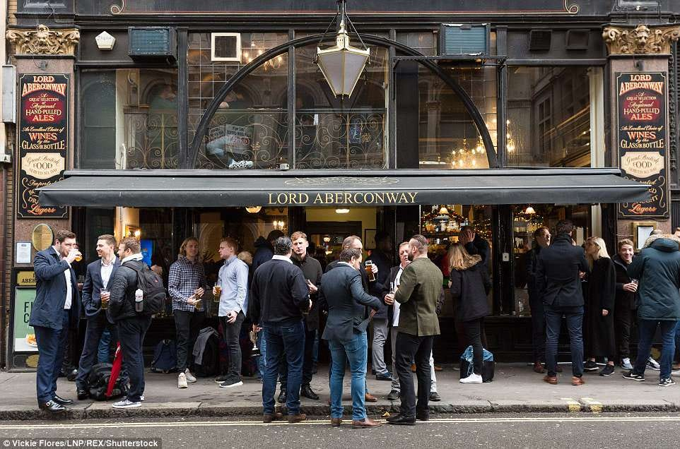 The places in Britain with the most pubs per square mile revealed ...