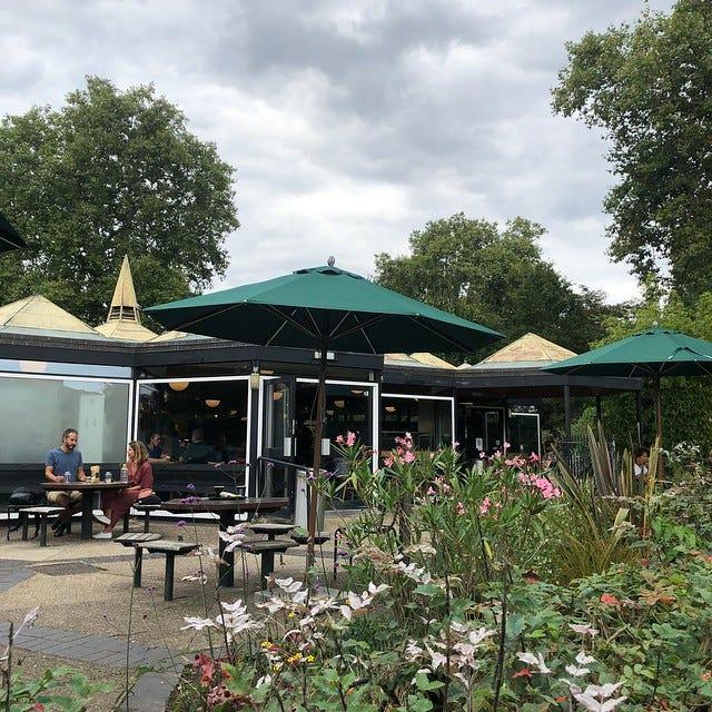 Regent's Park cafe