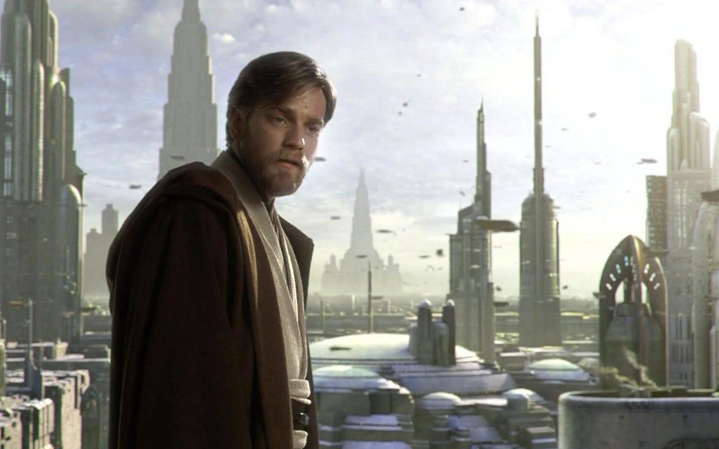Obi Wan in Revenge of the Sith.