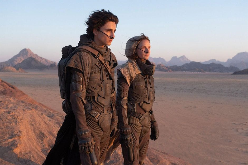 Dune: Our thoughts on the first 10 minutes of the movie - CNET