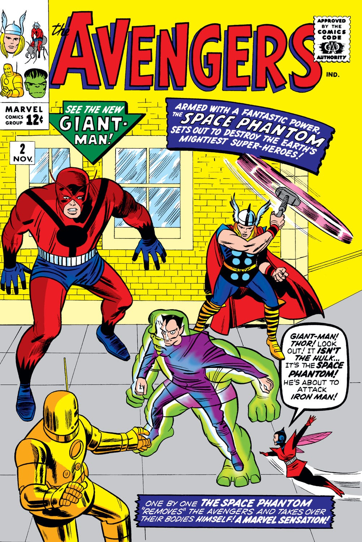 Avengers (1963) #2 | Comic Issues | Marvel