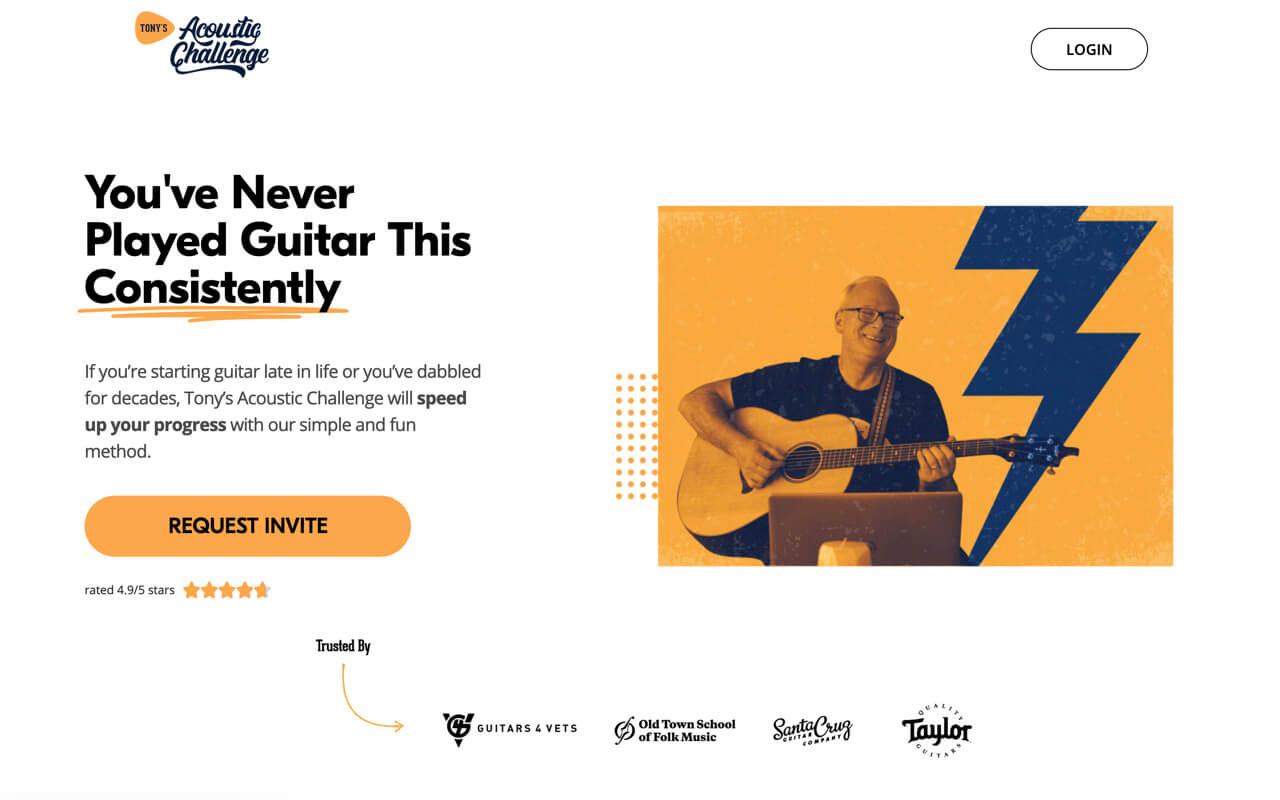 Tony's Acoustic Challenge