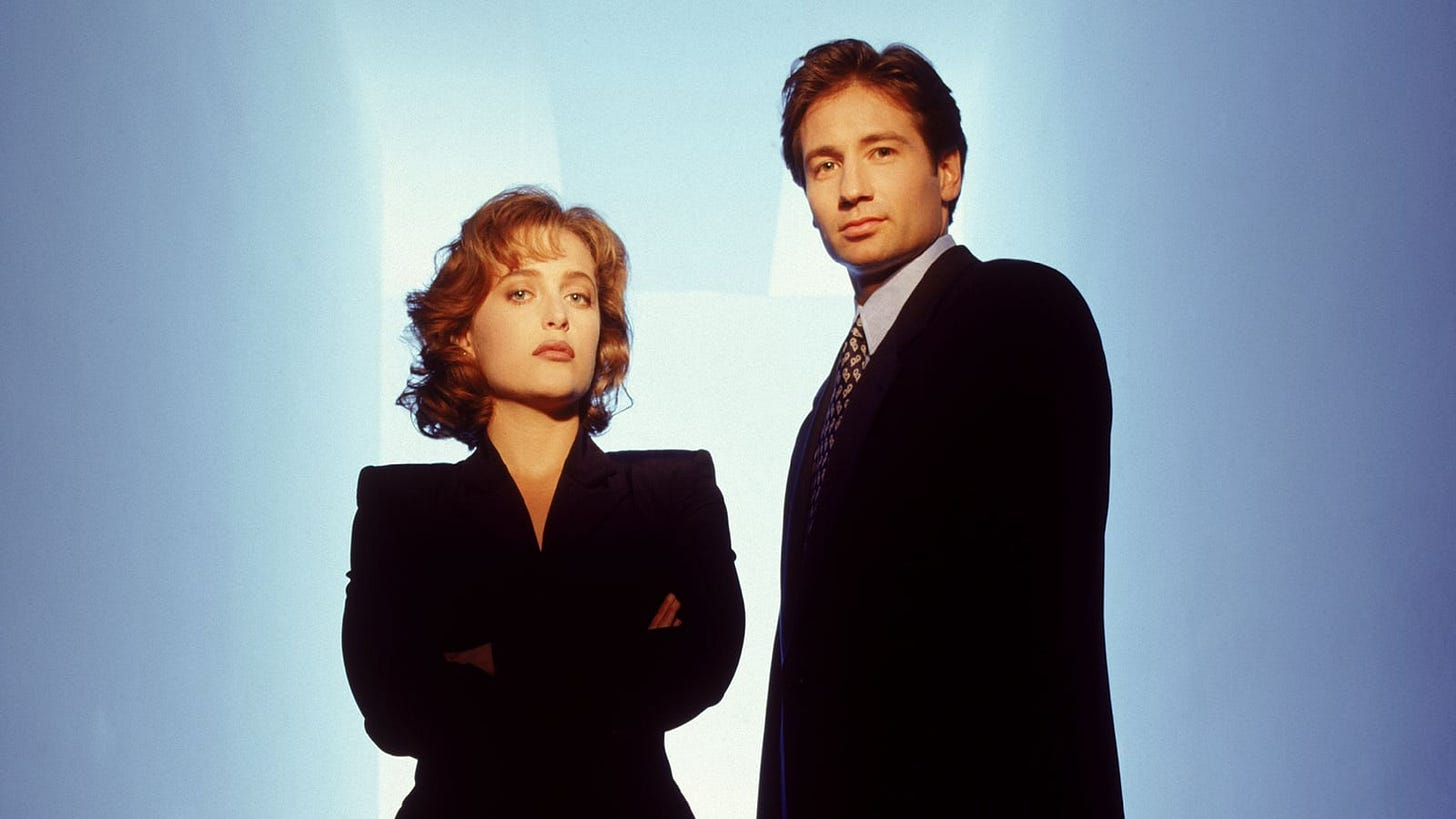 The X-Files' Dana Scully and Fox Mulder