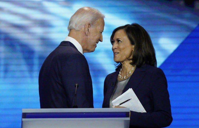 Joe Biden chooses Kamala Harris as his VP - Los Angeles Times