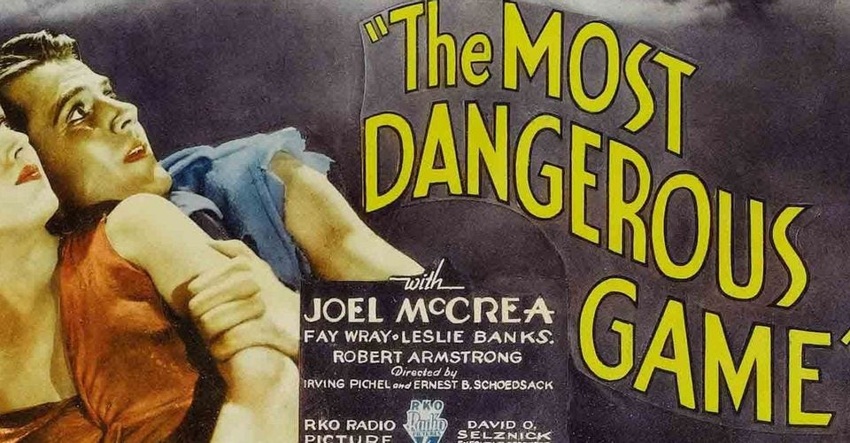 """The Hunt: 10 Other Movies Inspired By """"The Most Dangerous Game"""""""