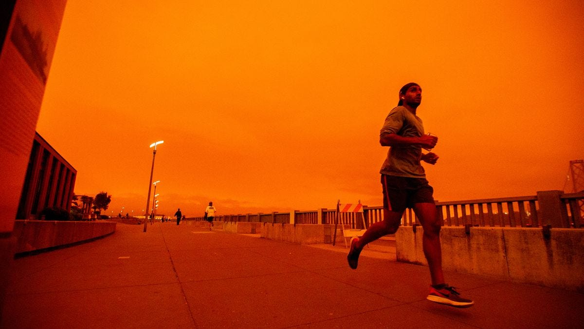 Air quality: In California's smoke-filled horizon, it's become hard to  breathe - CNN
