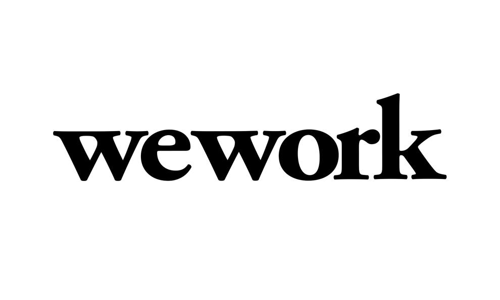 Typographic Logo Design Inspiration: WeWork   DesignRush