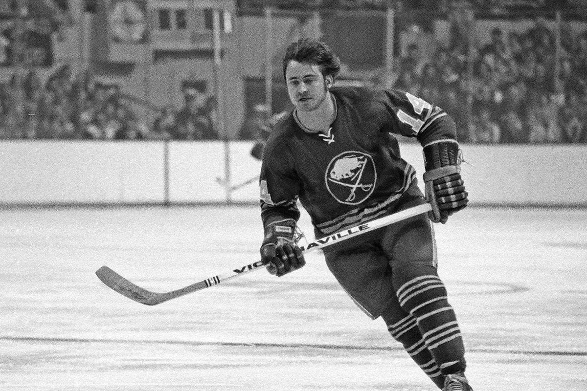 Sabres French Connection legend Rene Robert has passed away - Die By The  Blade