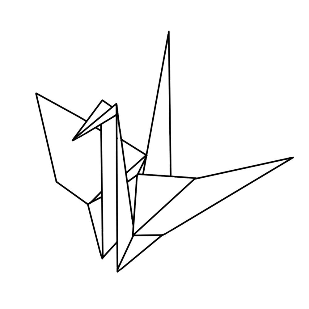 """Origami Crane"""" by Duncred 