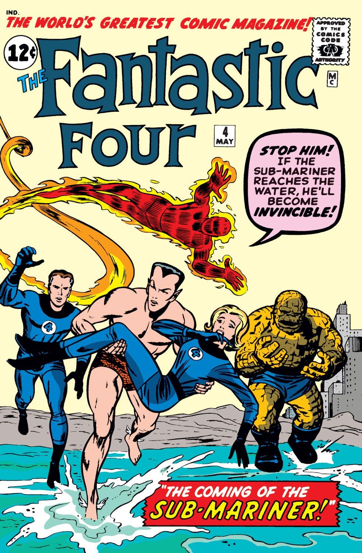 Fantastic Four (1961) #4 | Comic Issues | Marvel