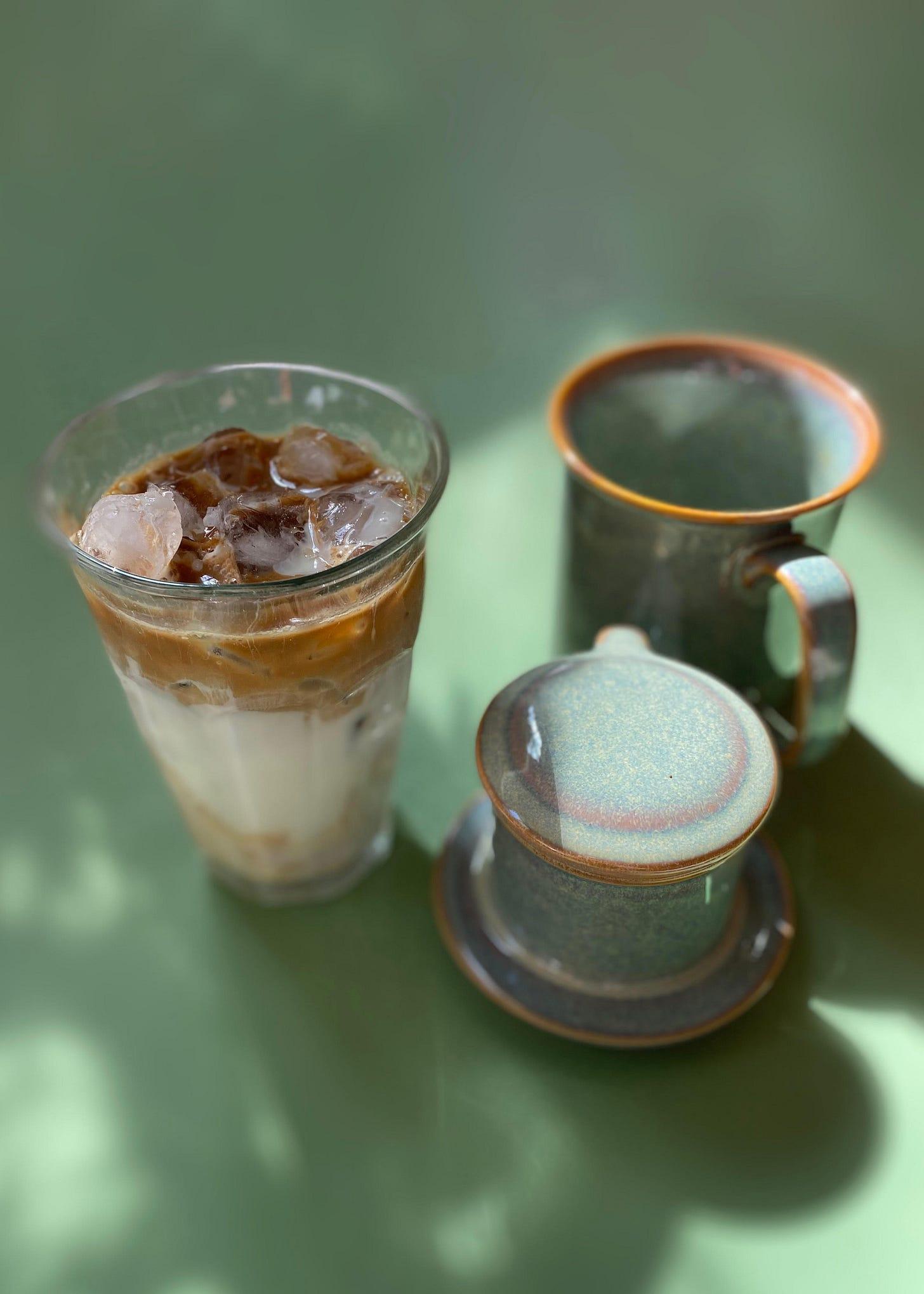 Cà Phê Da Ua Đá – Iced Vietnamese Yogurt Coffee