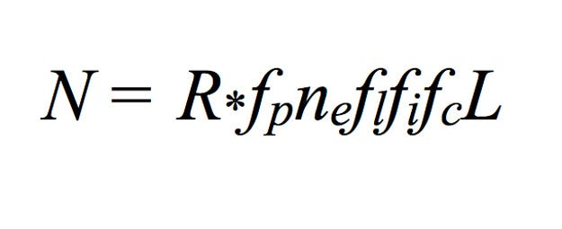 Searching For A Standard Drake Equation - Astrobiology