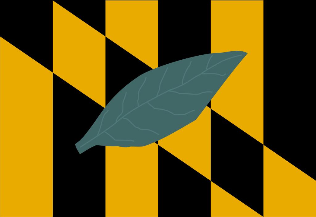 Flag of Calvert County, Maryland.svg