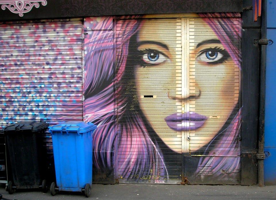 Street Art, Urban, Graffiti, Creativity, Artwork, Girl