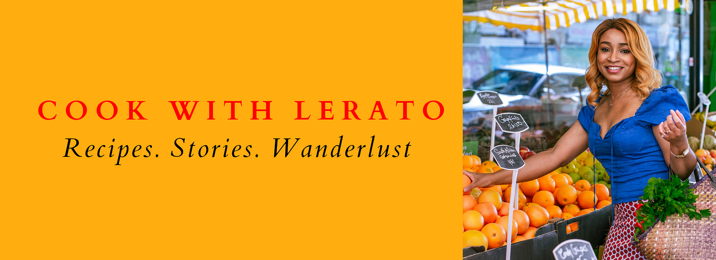 Cook with Lerato Newsletter
