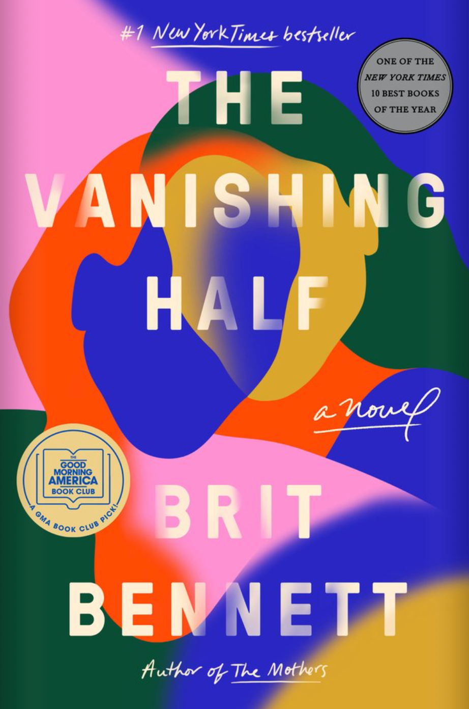 Book cover of The Vanishing Half, by Brit Bennett