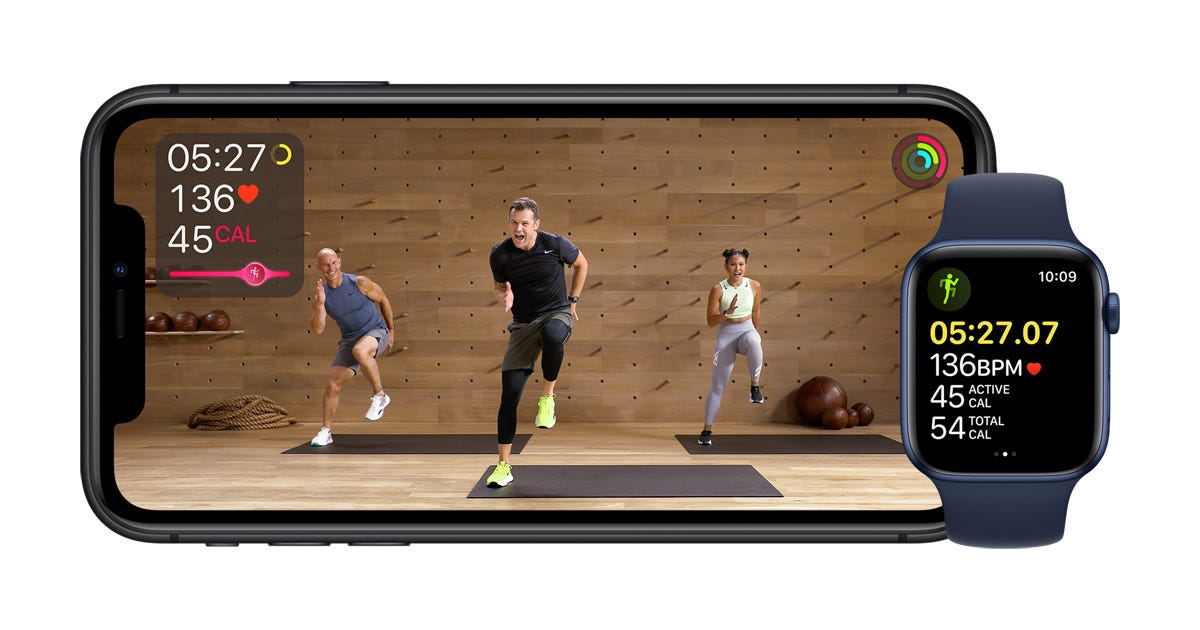 Apple Fitness+: A personalized fitness experience comes to life with Apple  Watch - Apple