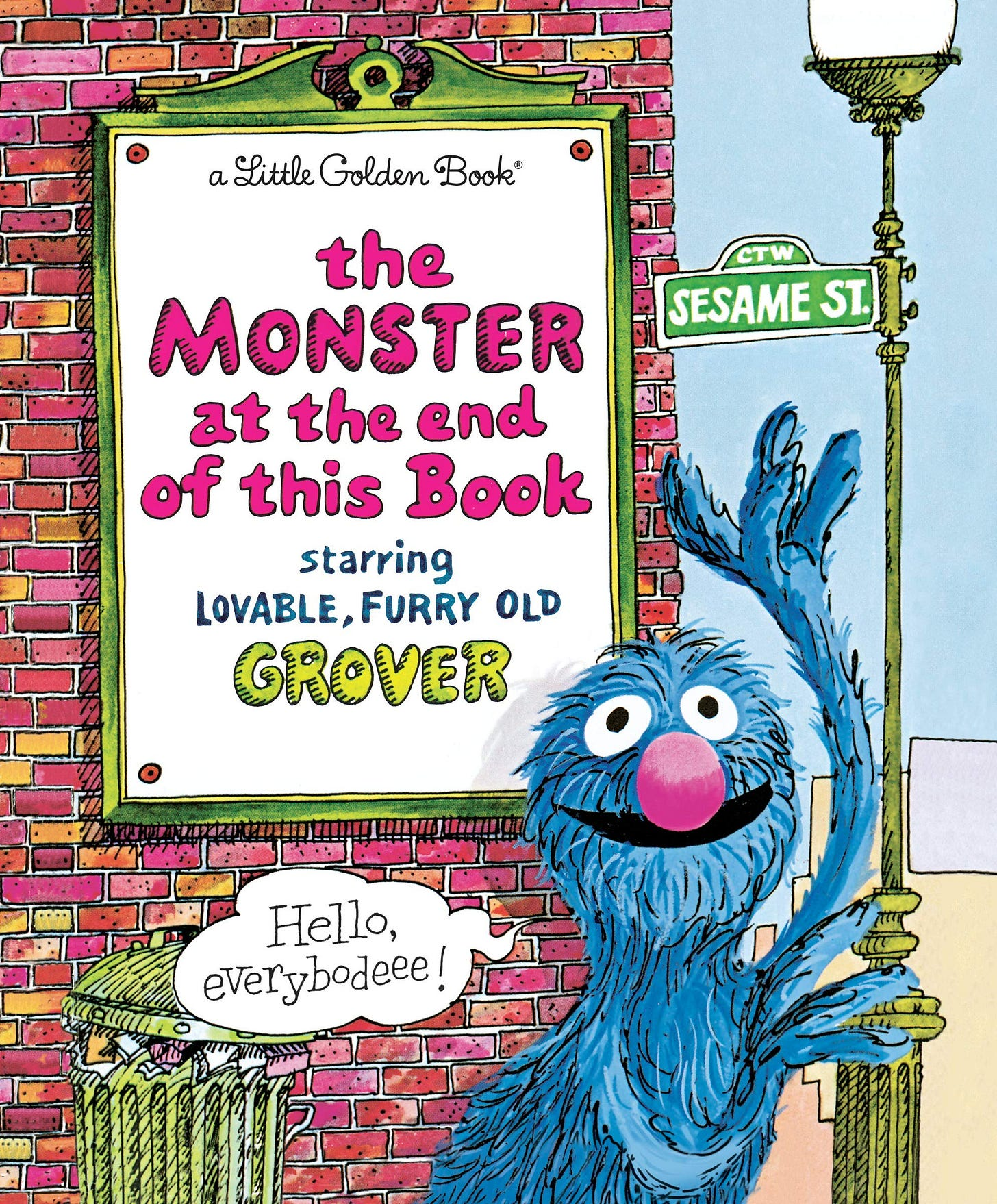 Image result for monster at the end of this book