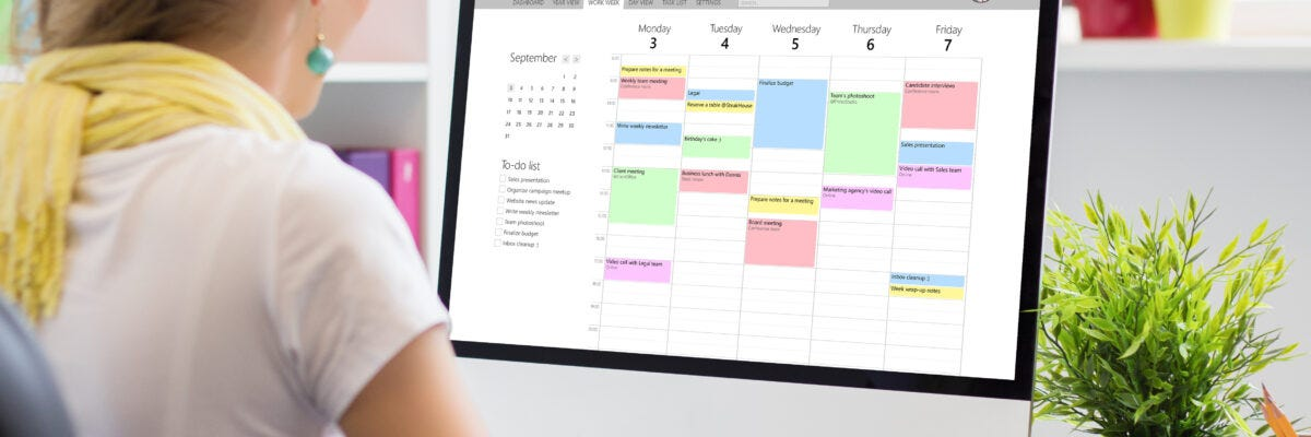Manage your calendar. Manage your life. | Timothy Eldred | Square Peg Round Hole