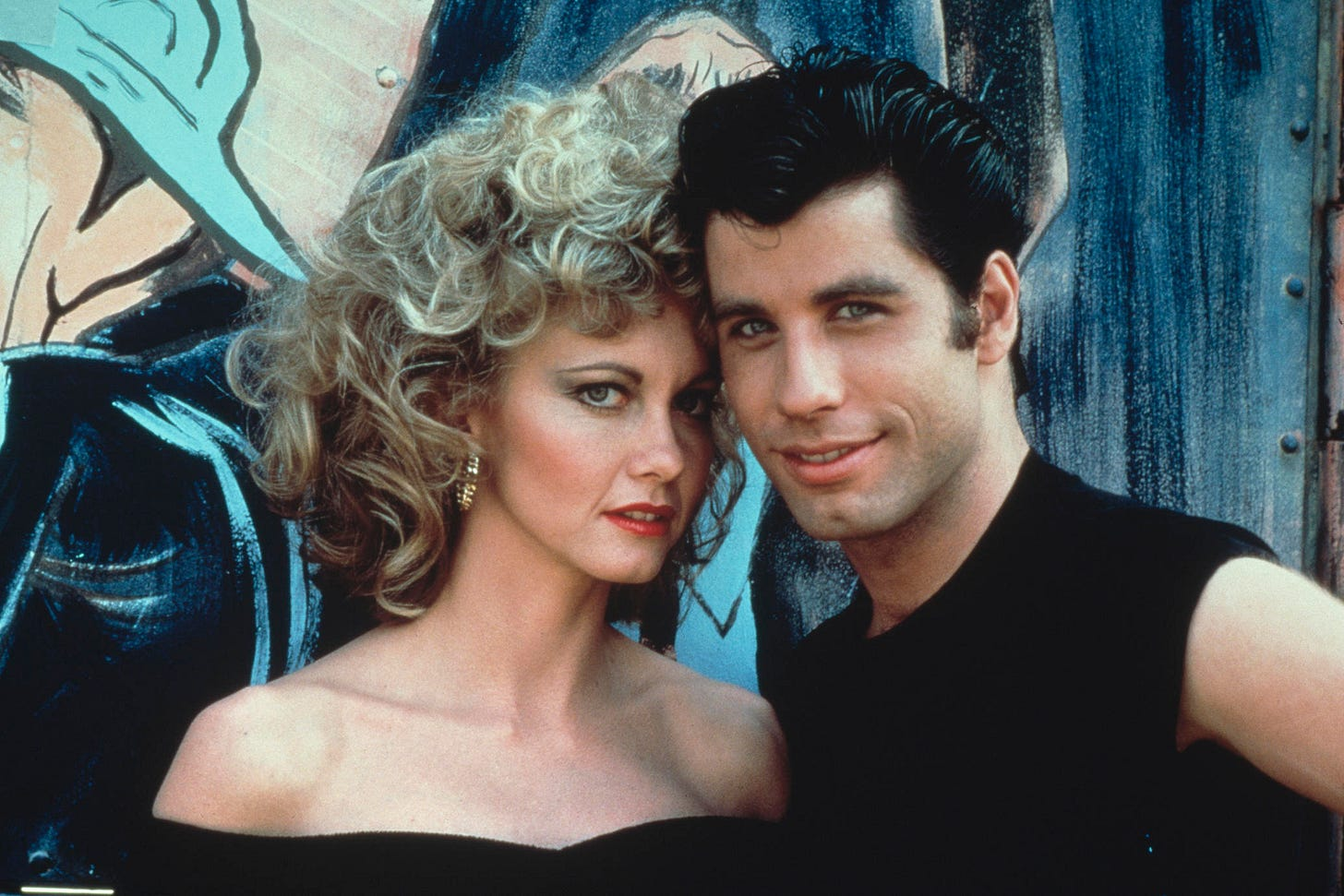 Olivia Newton-John, John Travolta, <em>Grease</em>