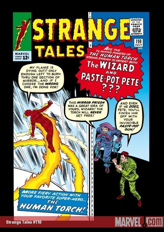 Strange Tales (1951) #110   Comic Issues   Marvel